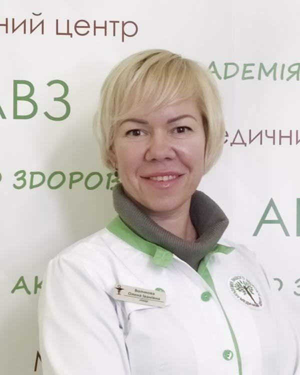 Волчкова Елена Ивановна